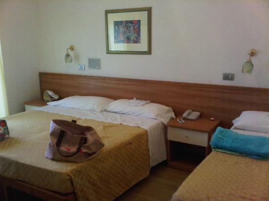 Hotel Poseidon & Nettuno: camera