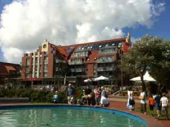 Hotel Atlantic Juist - Apartments : Hotel Atlantic Eingang