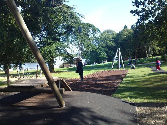 Superior Trentham Gardens: Zip Wire.....wheeeeee