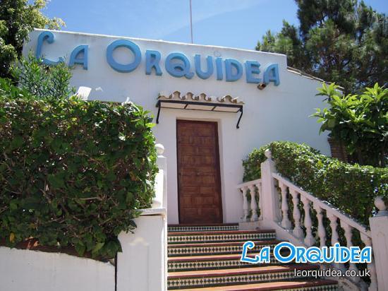 La Orquidea Holiday Apartments Reception.