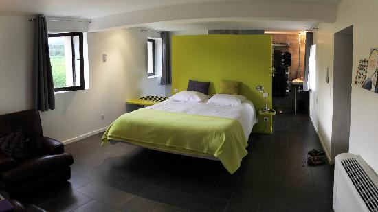 "Le Jour et la Nuit: The ""Levant"" room on the first floor"