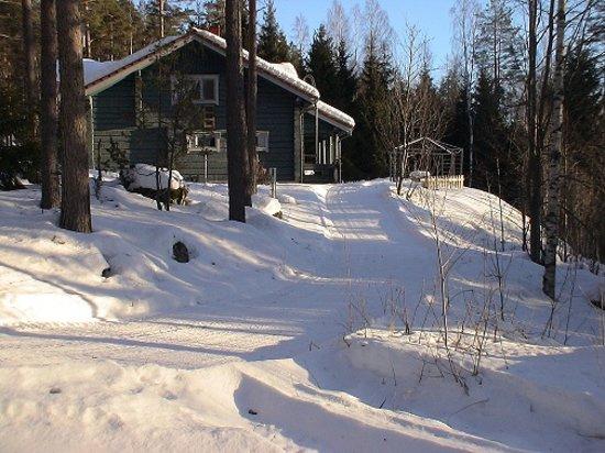Tervalepikon Torpat: Vesan Villa in winter