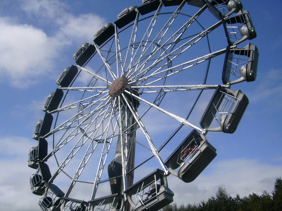 North Stainley, UK: the big wheel