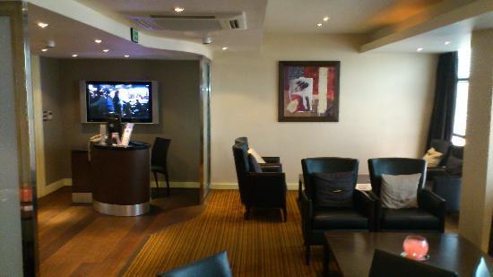 Crowne Plaza Hotel Nottingham: Club Lounge