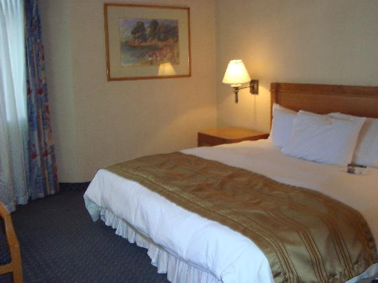 Grand Hotel Tijuana: Comfortable Bed
