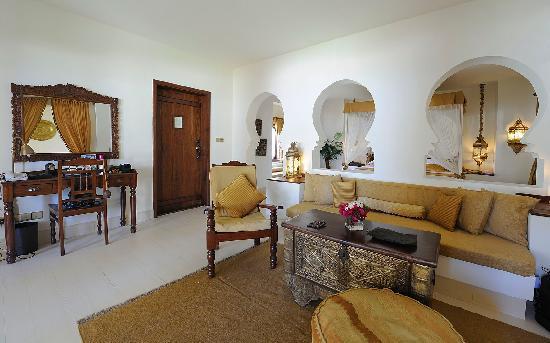 Baraza Resort & Spa: Wohnraum