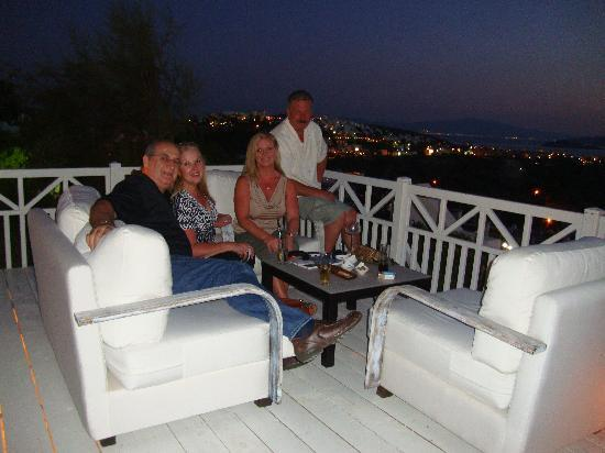 Ramada Resort Bodrum: enjoying the view at night