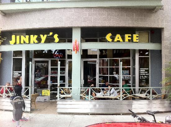 ... Cafe outside - Picture of Jinky's Cafe, Santa Monica - TripAdvisor