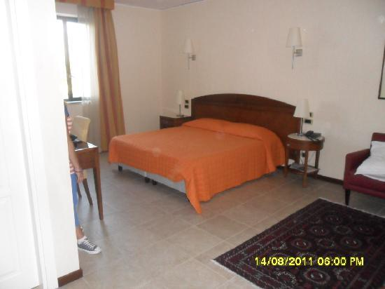 Grand Hotel Paestum Tenuta Lupo': la nostra camera