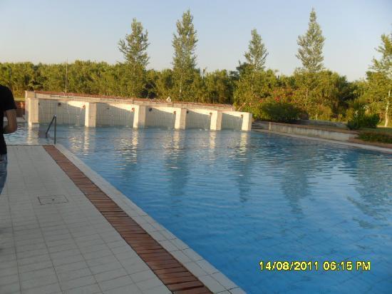 Grand Hotel Paestum Tenuta Lupo': la piscina