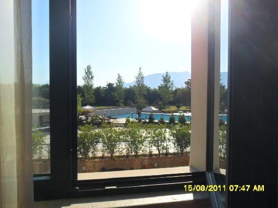 Grand Hotel Paestum Tenuta Lupo': veduta dalla nostra camera