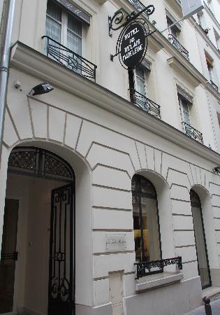 Le Relais Madeleine: ホテルの入口