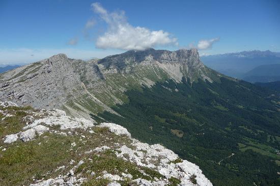 Villard-de-Lans, France : Depuis le Rocher du Playnet