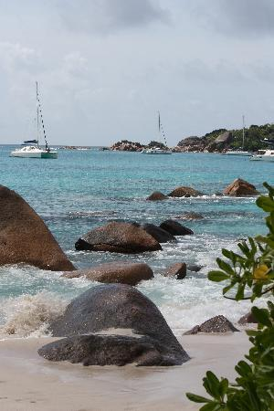 Praslin Island, Seychelles: Beautiful views from all angles