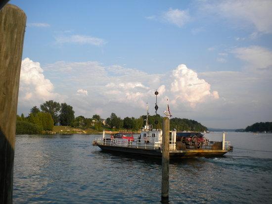 The Landing Restaurant: The ferry
