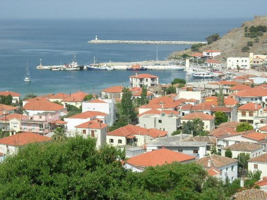 View of Myrina (June 2011)