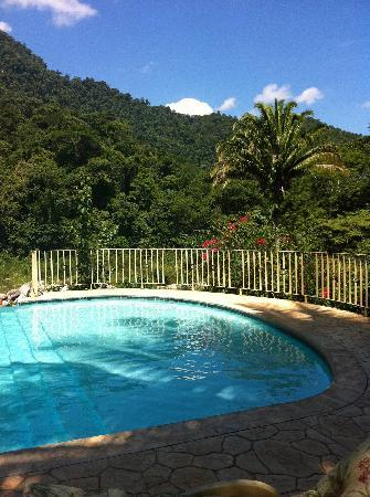 Villas Pico Bonito: pool and mountain