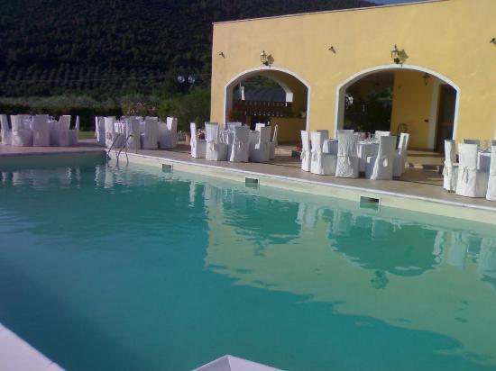 Locanda le Due Querce: ancora la piscina