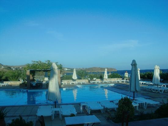 Panselinos Hotel Apartments: Pool area