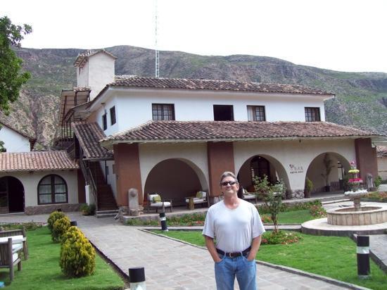 Sonesta Posadas del Inca Yucay: Me at the hotel
