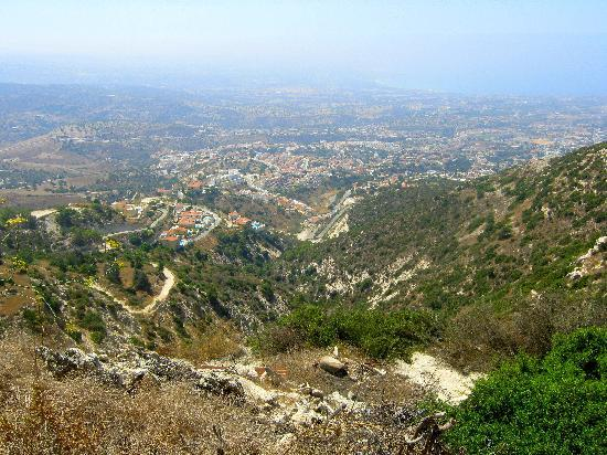 Paphos, Cipro: The Area From The Mountains