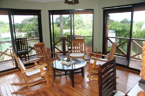 Casita Margarita: The lounge on the first floor