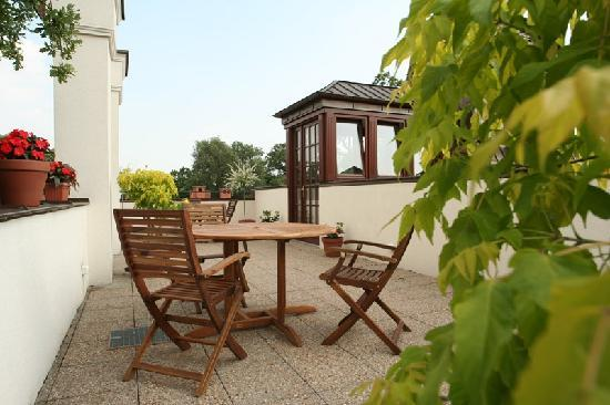 Hotel Grodek: terrace