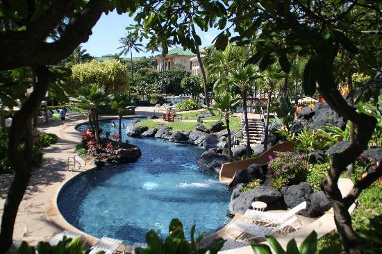Grand Hyatt Kauai Resort Spa Water Slide