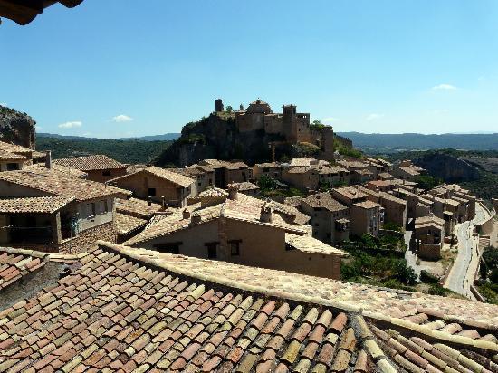 Villa de Alquezar: Alquezar desde la habitacion