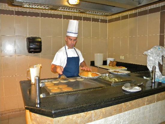 IBEROSTAR Tainos: many selections at breakfast buffet
