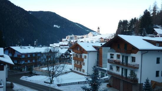 Hotel Tyrol: vista dalla stanza