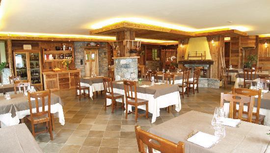 Torgnon, Italy: ristorante