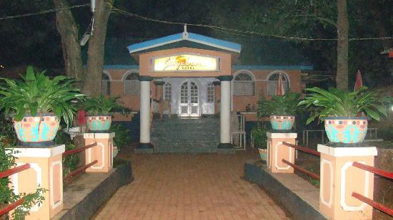 Sayeban Hotel: Hotel at night