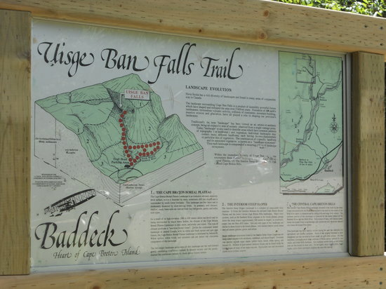Baddeck, Canada: Just follow the trail