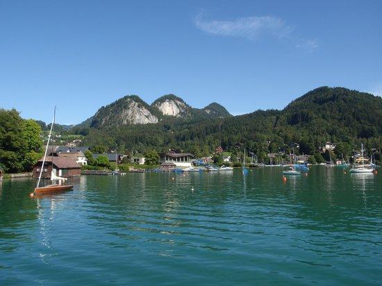 Gasthof zur Post: lake view