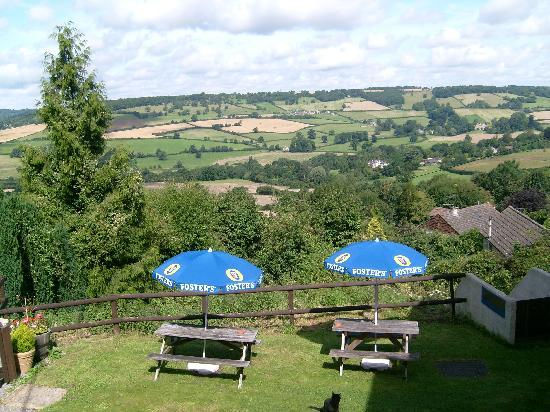 The Swan Inn: The view from the Gardens