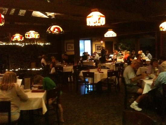 """The Red Blazer Restaurant and Pub: """"dark"""" interior"""