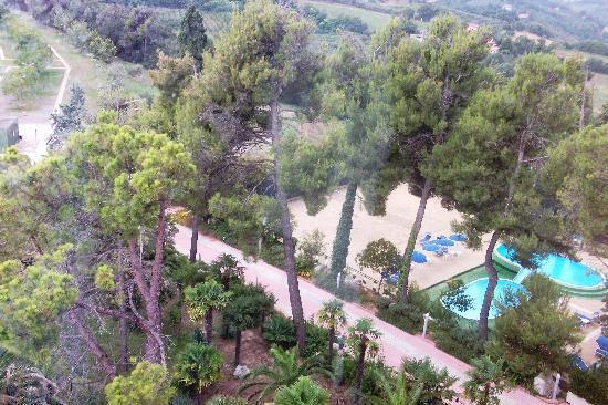 Parc Hotel Villa Immacolata: vista dal percorso kneipp