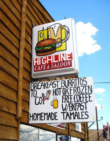 Hob Cafe & Saloon: Highline Cafe and Saloon Hartsel, Colorado