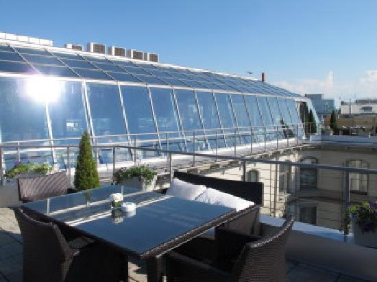 Kempinski Hotel Moika 22: Terrasse