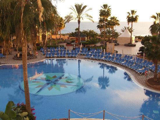 Bahia Principe Tenerife: vue du balcon de la chambre
