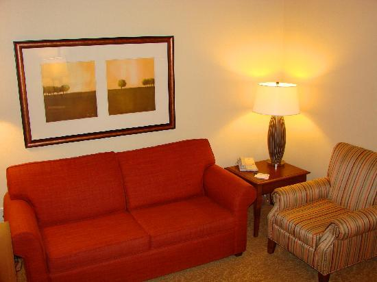 Country Inn Rapid City: Bring the family... our Executive Suites have a seperate sleeping area and he sitting area has a