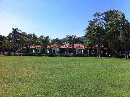 Club Salima: jardin