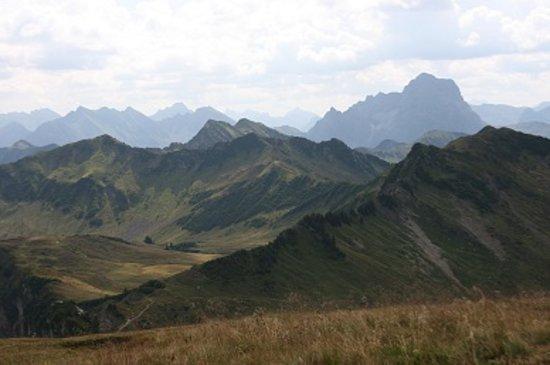 Schoppernau, Αυστρία: Weg zum Neuhornbachsattel
