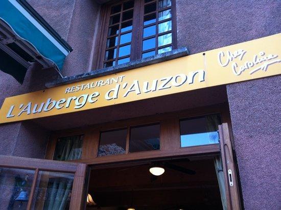Allegre-les-Fumades, France: l'auberge d'auzon
