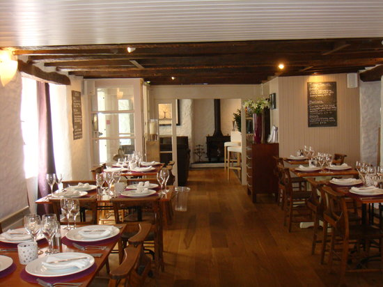 Squid Ink: intimate 32 covers restaurant