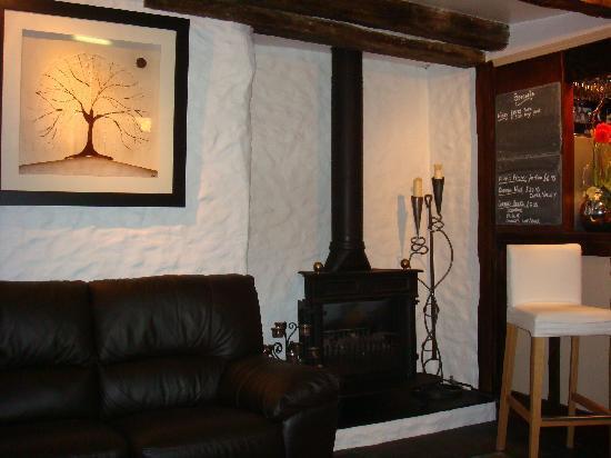 Squid Ink: Relaxing seating area to enjoy your after dinner coffee