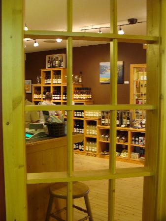Napa North Wine Tours: Sleeping Giant Winery inside Summerland Sweets, Summerland