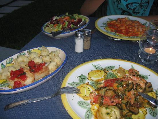 Ristorante Casale Villarena: Food