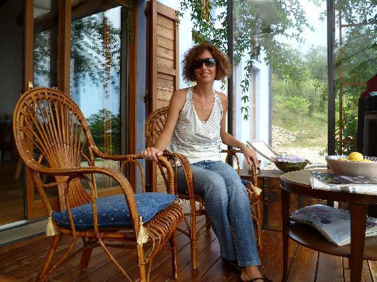 B&B Ca' di Carobina: la veranda